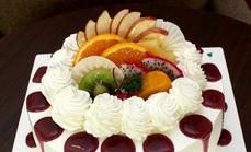 10英寸欧式水果蛋糕