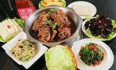 塞外烤羊蝎子馆3人餐