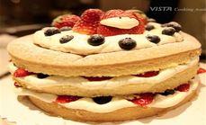 VISTA美式奶油水果蛋糕