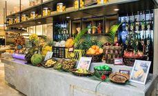世贸广场酒店海鲜自助餐厅