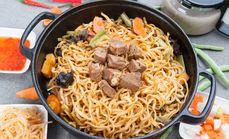 铁锅焖面3至4人餐