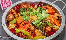 龙门煮精选排骨虾锅套餐