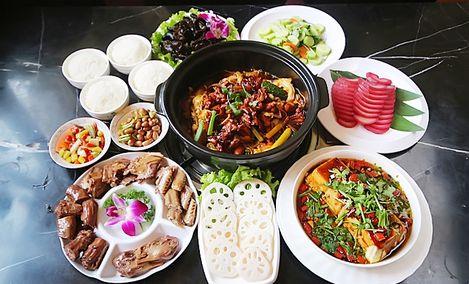 香辣蛙锅东北菜