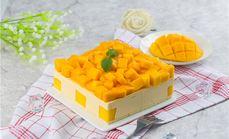 芒果慕斯蛋糕榴莲哥蛋糕