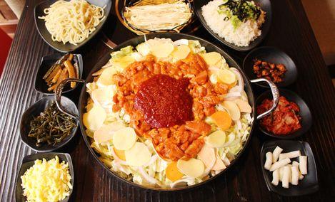 春川韩式铁板鸡