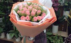 相约爱花吧花束友谊之爱