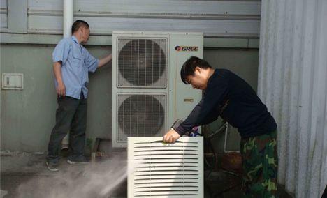 华政制冷空调移机