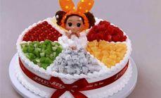 儿童场景蛋糕