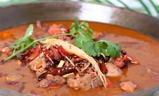 金手勺铁锅炖六至八人双锅餐