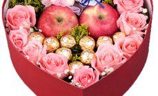 玫瑰传情圣诞节专用鲜花礼盒
