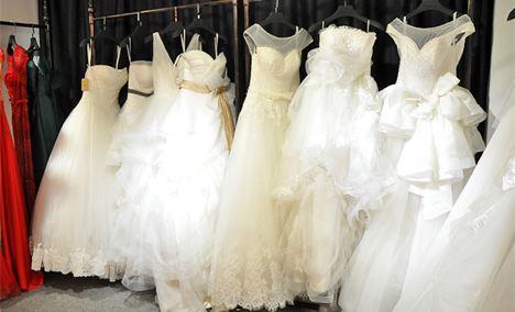 sweet时尚婚纱造型
