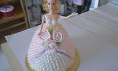翠翠蛋糕房芭比娃娃蛋糕