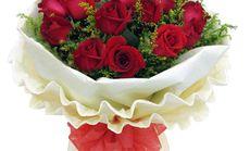 万卉源一心一意11朵玫瑰