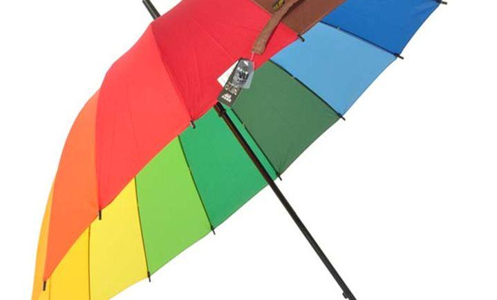 天堂伞红叶伞