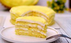 蛋糕榴莲千层蛋糕6英寸