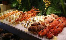 北京洲际饭店周末自助午晚餐