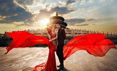 汉城之约甜蜜恋人婚纱摄影