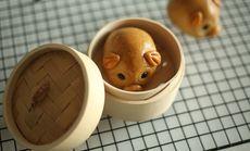 乔尔儿烘培小猪猪月饼