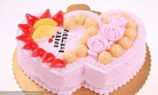 欧式10寸鲜奶水果蛋糕
