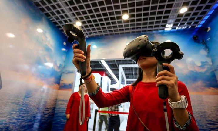 分享科技体验VR
