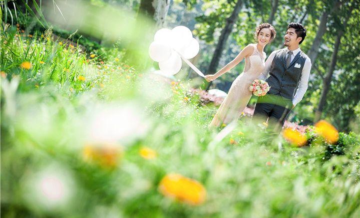 韩国像素婚纱摄影