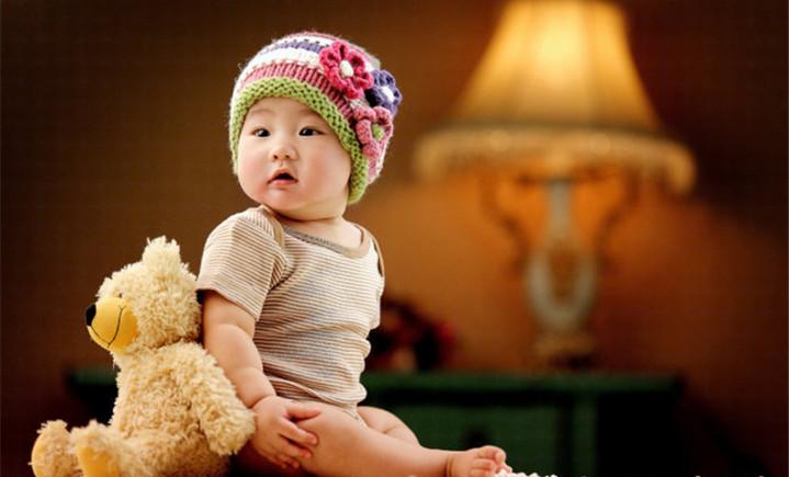 小熊维尼专业儿童摄影