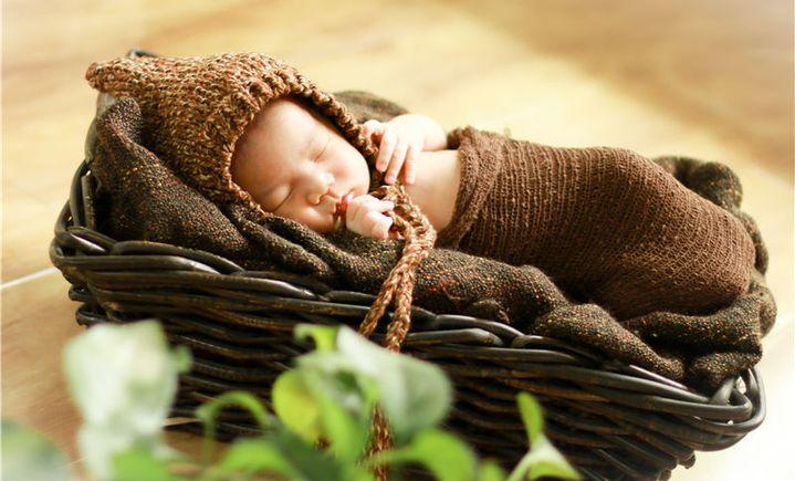 金色星光精致儿童摄影