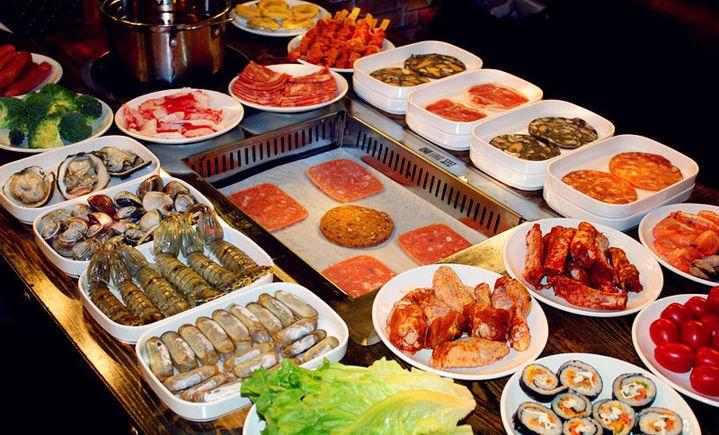蓝鲸自助烤肉海鲜火锅 - 大图