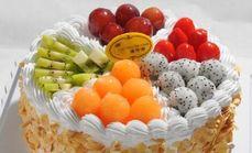 尚味滋8英寸水果蛋糕