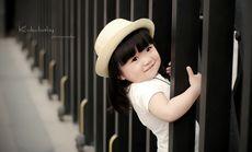 钟爱一生儿童照外景拍摄