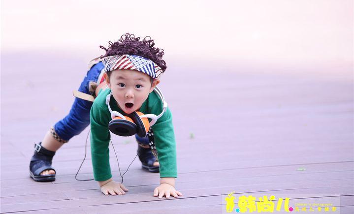 韩尚儿儿童摄影写真