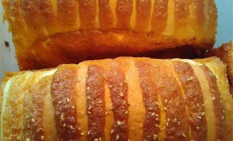 黄金手撕面包