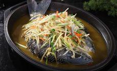 九元渔民菜特色汗蒸鱼
