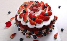 维思客8寸招牌红丝绒裸蛋糕