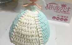 甜咪公主芭比娃娃蛋糕