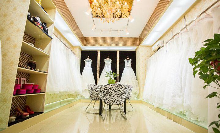 茜茜公主造型嫁衣馆