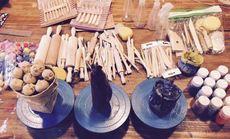 DIY陶艺-拉坯上釉