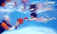 蓝旗亲子游泳方庄店周末体验