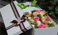 那时花开一往情深玫瑰礼盒
