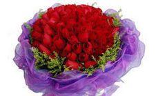 喜乐花坊66枝玫瑰