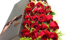 19只玫瑰礼盒1束