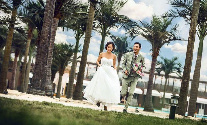 韩国新娘婚纱摄影(蒲芳路店)