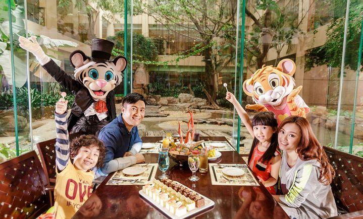 广州长隆白虎餐厅成人晚餐