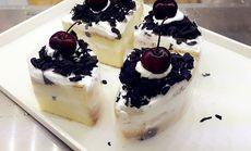 泡芙蜜语三角蛋糕
