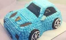 焙焙DIY小汽车蛋糕