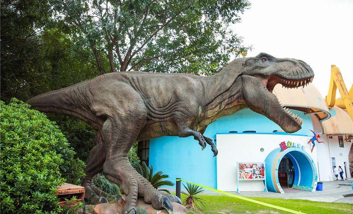 顾村公园·自然谷恐龙乐园