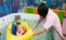 婴童健康水育馆游泳月卡
