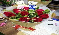 炎炎鲜花一生一世红玫瑰