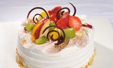 麦东香8寸水果蛋糕