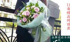 花巴巴11朵玫瑰礼盒